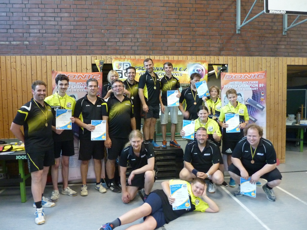 Vereinsmeisterschaft Tischtennis 2018 #PSG #Mannheime.V.